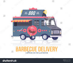 Barbecue Truck Delivery Service Street Cuisine Stock Vector ... Delivery Car Vector Icon Truck Service Portland Oak Fniture Warehouseoak Warehouse Cargo And Logo Stock Image Delivery With Warehouse Service Icon Boston To New York Freight Trucking Company Hand Drawn Truck Logistics Transport Van Fast Western Cascade 2005 Ford E350 Utility Work Box The Images Collection Of Photo Avopixcom Hand