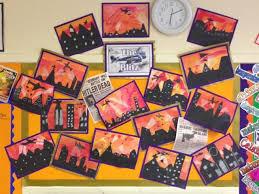 Blitz Classroom Display World War 2
