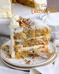 carrot cake slice text
