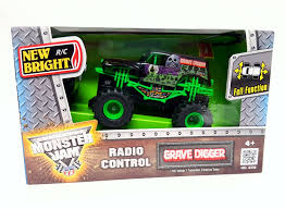 Buy New Bright RC Remote Control Monster Jam Truck Grave Digger 1:43 ... Traxxas 30th Anniversary Grave Digger Monster Jam 110 Scale 2wd Excitement Now In 116 Rc Soup Top 5 Best Trucks Crawlers Under 30 Quadcopters Truck World Finals 17 Stand Replica Review Truck Stop What Happened To Monster Trucks Car Action Tamiya Super Clod Buster 4wd Kit Towerhobbiescom Racing Alive And Well Gas Remote Control Cars And News 18 Full Function Walk Around Axial Smt10 Maxd Offroad 4x4 In Snow Expert