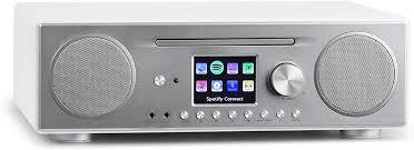 auna connect cd kompaktanlage internetradio digitalradio wlan dab ukw tuner mit rds bluetooth spotify connect aux 10 senderspeicherplätze