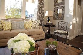 Rustic Chic Living Room Eclectic
