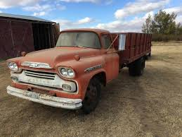 1959 Chevrolet C60 Farm / Grain Truck For Sale | Havre, MT | 9274608 ... 1959 Chevrolet Apache For Sale Classiccarscom Cc954764 Sale Near Charlotte North Carolina 28269 300327equipped Napco 44 31 Project Bring A Trailer Suburban 4x4 Clean Vintage Truck Chevy Fleetside Truck 4x4 Chevrolet Apache Stepside Pickup Truck 1958 What Your 51959 Should Never Be Without Myrideismecom Panel Van Stock Photos Images Alamy Hot Rod Network This Equipped 3600 Is A No Nonse Go