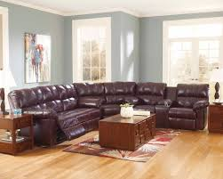 Ashley Furniture Living Room Set For 999 by Furniture Gorgeous Burgundy Leather Sofa For Living Room Idea