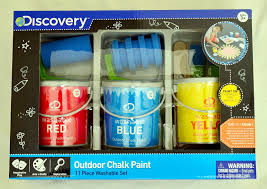 Amazon.com: Discovery Sidewalk Outdoor Chalk Paint: Toys & Games