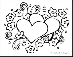 Hello Kitty Valentine Coloring Pages Free Printable Frozen Valentines Day Sheets Disney Pag Full Size