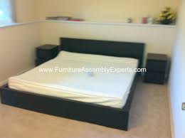 Malm Bed Assembly by Gorgeous Ikea Malm Bed With Nightstands Ikea Malm Bed With