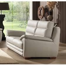 canap simili cuir 2 places canapé design 2 places en simili cuir noir et blanc