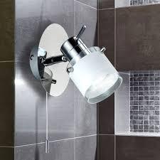 led badezimmerleuchte wand le bad strahler spot ip44