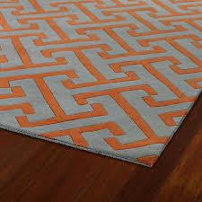Gray And Orange Area Rug Bedroom Gregorsnell Rugs Inside Blue Idea