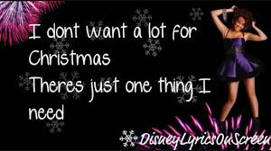 Rockin Around The Christmas Tree Karaoke Miley by Miley Cyrus All I Want For Christmas Is You Lyrics On Screen
