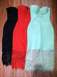 strapless black lace dress promotion shop for promotional