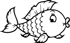 Easy Fish Coloring Pages Pictures To Print