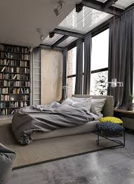 Stylish Industrial Bedroom Design Ideas Gray Decor Beautiful Wallpaper For Wall Chrisfason Classic Designs Plans Boys