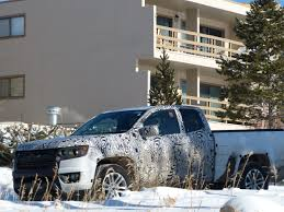 Photo Of The Day: 2015 Chevrolet Colorado Prototypes - In The Snow ...