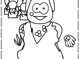 Jesus Heals The Blind Man Colouring Pages Page 2
