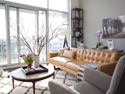 Leather Sofa Living Room Ideas by Hgtv Design Ideas Living Room