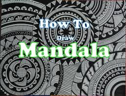 How To Draw Complex Mandala Art Design For Beginners Easy Tutorial Dood