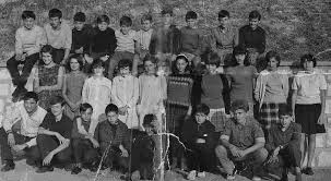 photo de classe 5 eme college mont d or de 1967 ecole max trouche
