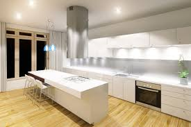 Modern Kitchen With Glass Splashback By Dynamic Melbourne
