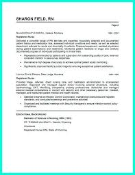 Icu Nurse Resume Example Awesome 12 Best Rn Images On Pinterest