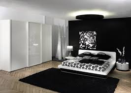 Decorating Ideas Black White Bedroom Room