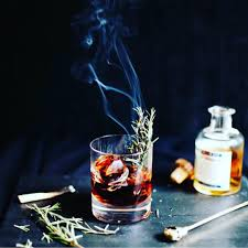 Headless Horseman Pumpkin Spice Whiskey by Perfect Cocktail For Fall Charred Rosemary Smoky Mezcal