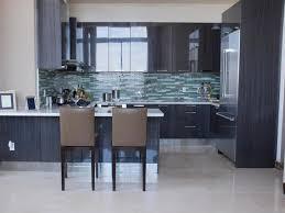 Kitchen Backsplash Ideas With Dark Wood Cabinets by Kitchen Design Ideas Modern Black Kitchen Cabinet Ideas
