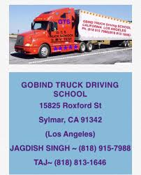 100 Truck Driving Schools In Los Angeles Photos For Gobind School Yelp