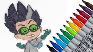 Romeo PJ Masks Coloring Page 2017 New HD Video For Kids