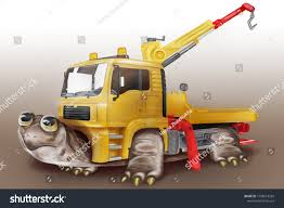 100 Funny Truck Pics Royalty Free Stock Illustration Of Turtle Art Yellow Tow