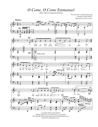 FREE LDS Sheet Music Oh Come Emmanuel