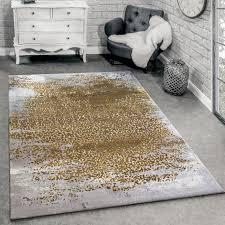 designer teppich ornamente grau honig gelb