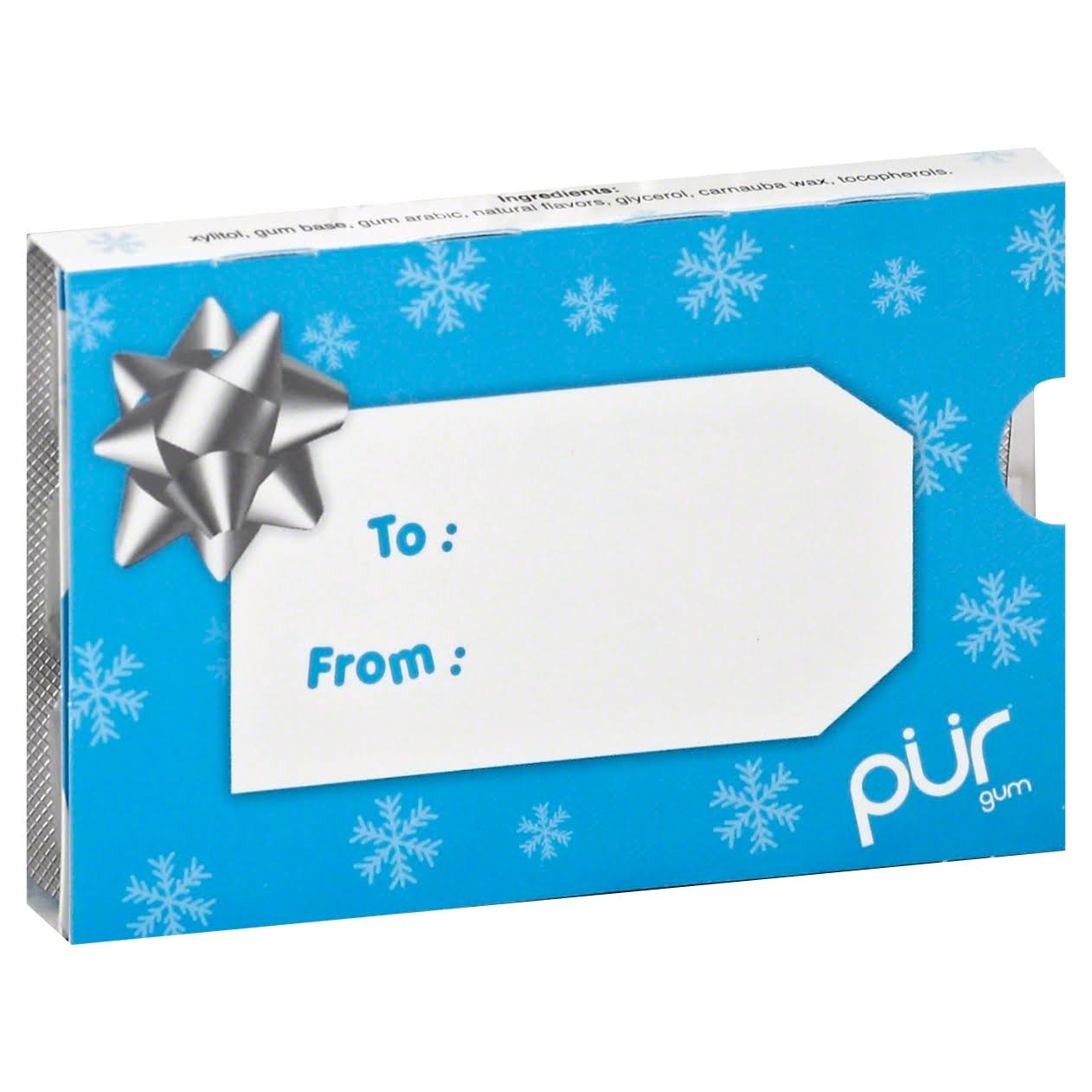 PUR Aspartame Free Gum - Peppermint, 6 Packs