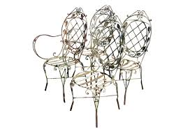 Vintage Wrought Iron Porch Furniture by Vintage Wrought Iron Patio Chairs Omero Home