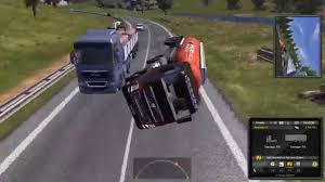 Euro Truck Simulator 2 - Flipped My Truck And Managed To Bring It Up ...