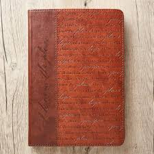 Journal Lux Leather I Know The Plans Brn Jer 29 11