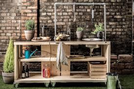 mobile outdoor küche selber bauen anleitung hornbach