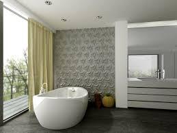 badezimmer mit 3d fliesen designer vintage waschbecken