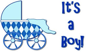 It s A Boy Baby Shower Clipart ClipartXtras