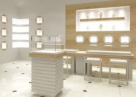 Easy Install Modern Jewelry Display Cases Custom Logo For Retail Shop