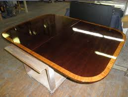 Refinishing Of Dining Table Glossy Lacquer Finish