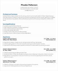 Medical Administrative Assistant Resume Templates Free Sample Samples Image Gallery For Office
