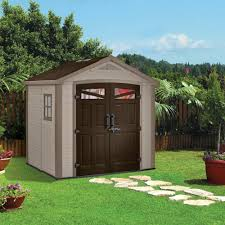 Everton 8 X 12 Wood Storage Shed by Sheds Keter Sheds Costco