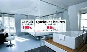 weekend dans la chambre baignoire chambre kube hotel suite luxe design avec de