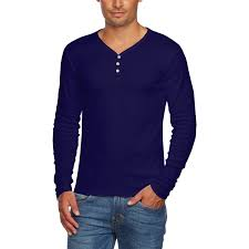 alta men u0027s slim fit v neck long sleeve cotton t shirt with 3