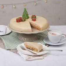 weihnachts torte mit marzipan