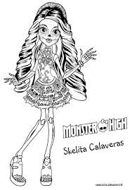 Monster High Baby Coloring Pages Dessin De Monster SIMPLE HOME