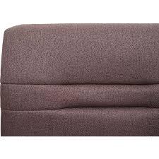 sitzbank mcw h70 esszimmerbank bank polsterbank rückenlehne stoff textil edelstahl gebürstet braun 180cm