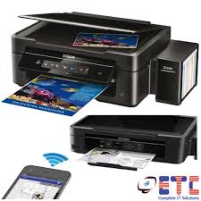 Epson L365 Wireless Inkjet All In One Printer Print Scan Copy Colour And Black